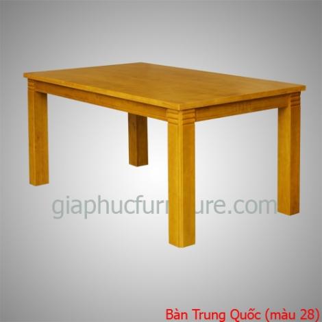 Bàn Trung Quốc gỗ