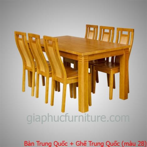 Bàn Trung Quốc + Ghế Trung Quốc