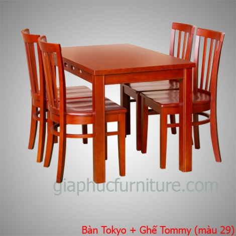 Bàn Tokyo + Ghế Tommy